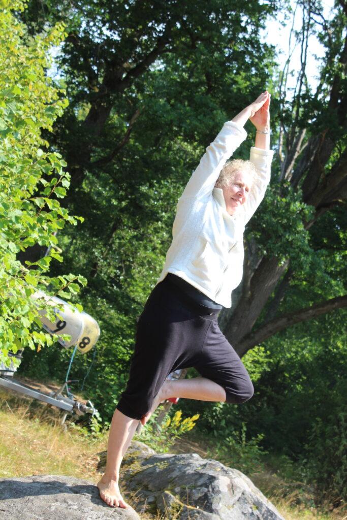 Yogainstruktør i balance